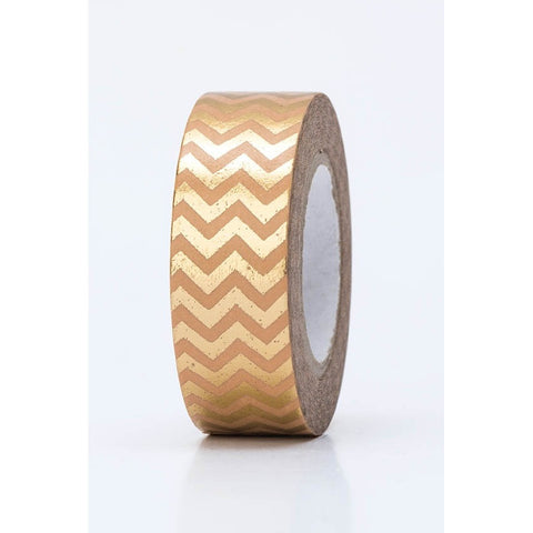 Rico Tape Zigzag Gold Hot Foil