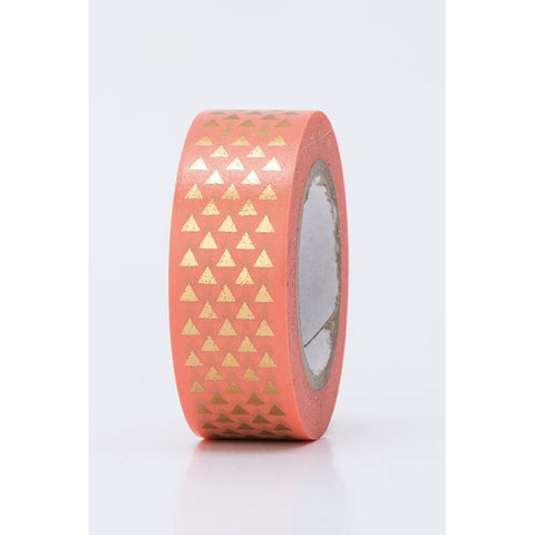 Rico Tape Triangles Gold Hot Foil