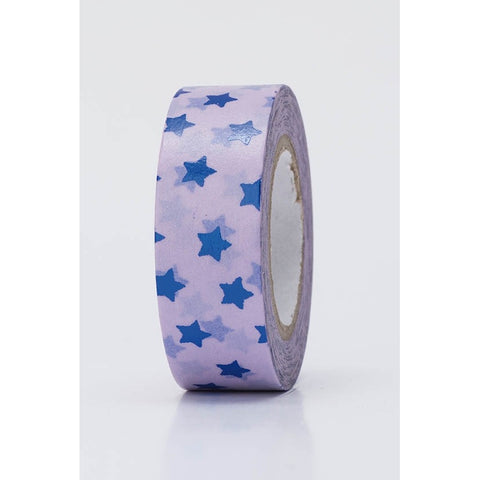Rico Tape Stars Blue Hot Foil