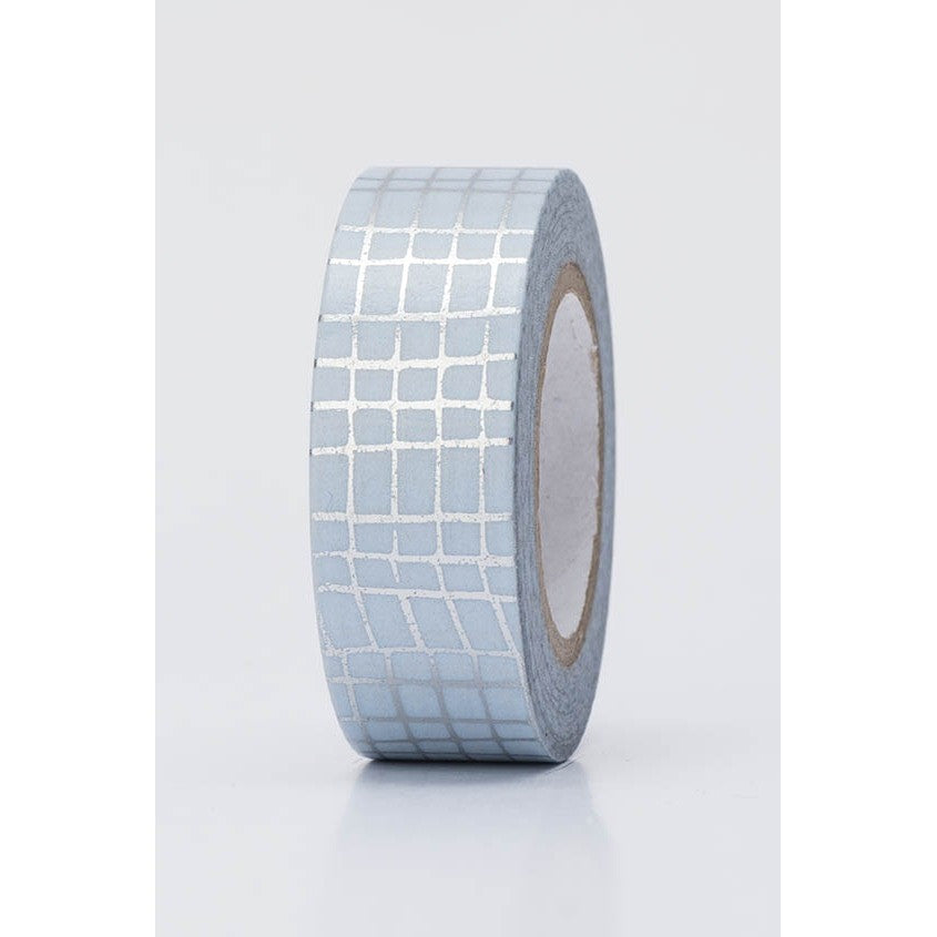 Rico Tape Grid Silver Hot Foil