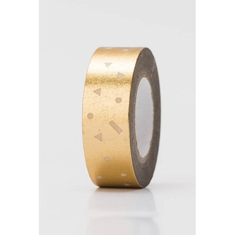 Rico Tape Confetti Gold Hot Foil
