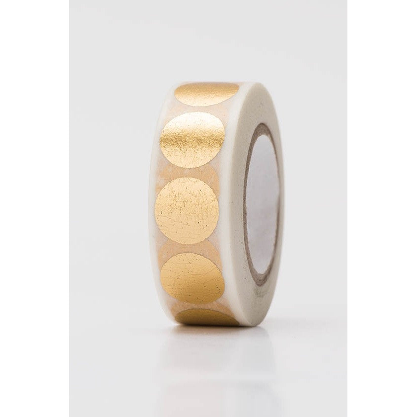 Rico Tape Dots Gold Hot Foil