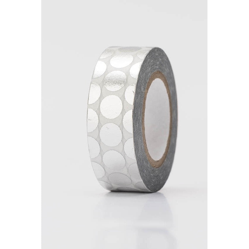 Rico Tape Dots Silver Hot Foil