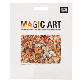 Rico Leaf Metal Flakes Metal-Mix 2G