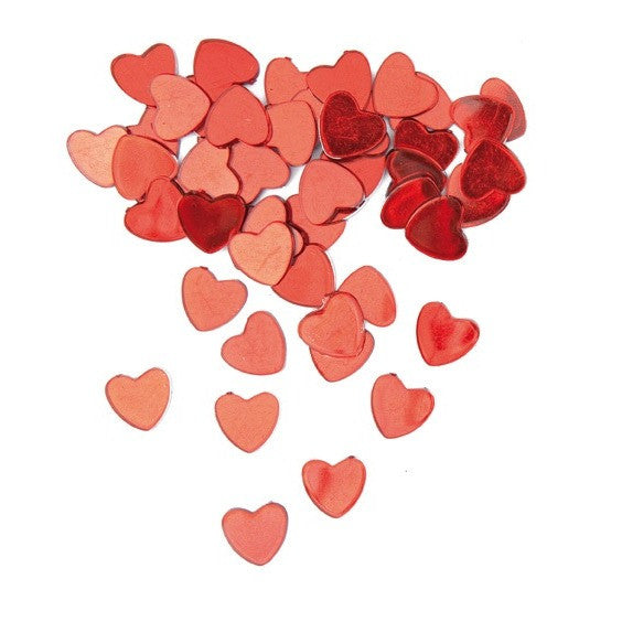 Rico Confetti Heart Red 48Pc