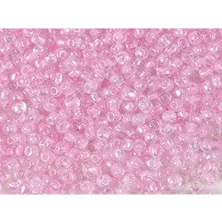 Rico Rocaille Transparentpink- Inclusion 4mm