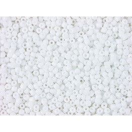 Rico Rocaille Opaque White 3.1mm