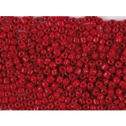 Rico Rocaille Red-Opaque 4mm