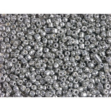 Rico Rocailles Silver 4mm