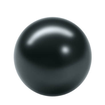 Rico Renaissance Bead Black 8mm