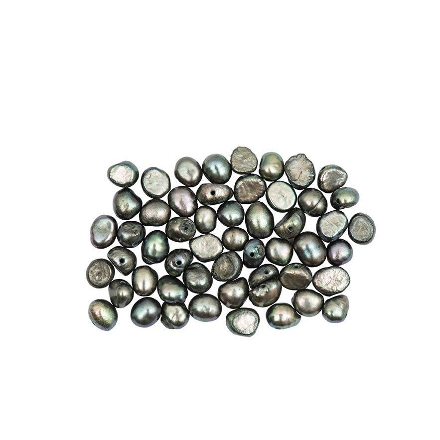 Rico Fresh-Water Pearls Greyapprox. 30 Pcs