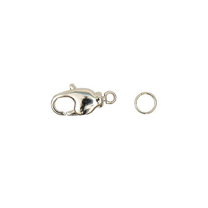 Rico Spring Catch Scr. W 2 Ring Sil14mm Asst 2