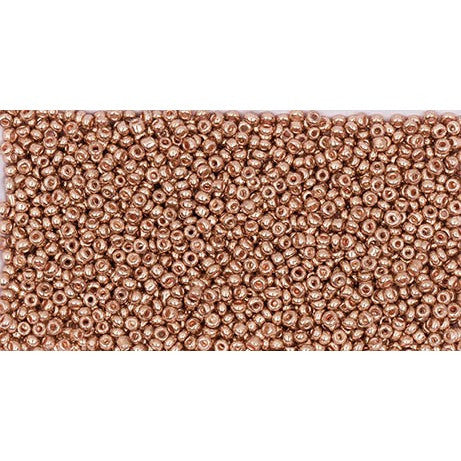 Rico Rocaille Rose Gold Metallic2mm Ca. 17g