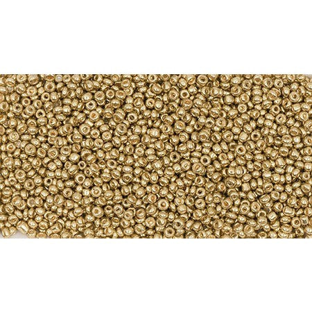 Rico Rocaille Gold Metallic2mm Ca. 17g