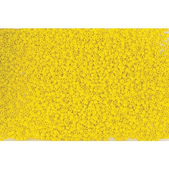 Rico Itoshii Bead Yellow Opaque12g 22mm