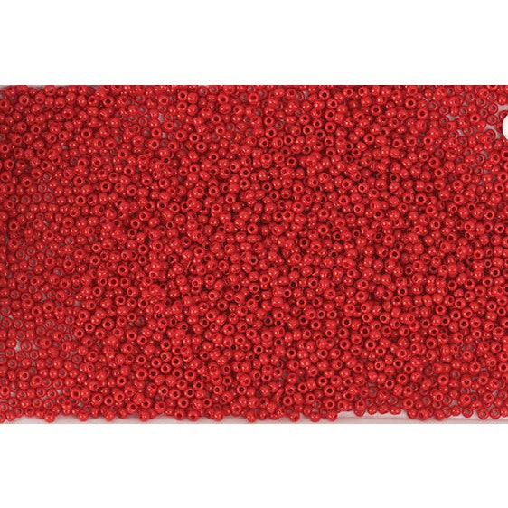 Rico Itoshii Bead Dark Red Opaque12g 22mm