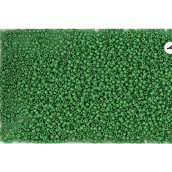 Rico Itoshii Bead Green Opaque12g 22mm