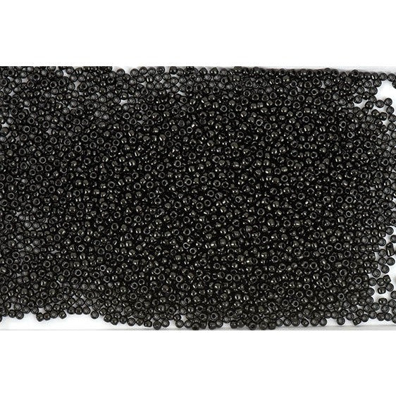 Rico Itoshii Bead Black Opaque12g 22mm