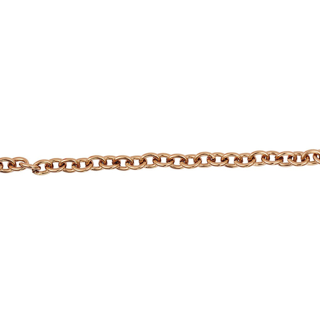 Rico Linked Chain Light Copper 7-8mm/100cm