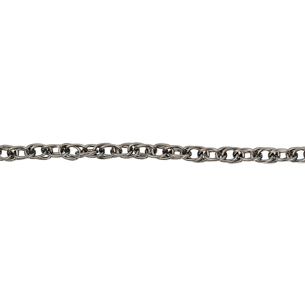 Rico Linked Chain Black 9mm/100cm