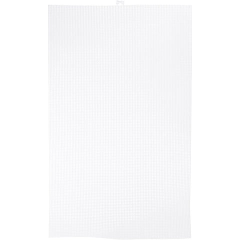 "Darice - Clear -Ultra Stiff Artist Canvas 7 Count 13.6"" x 22.6"""