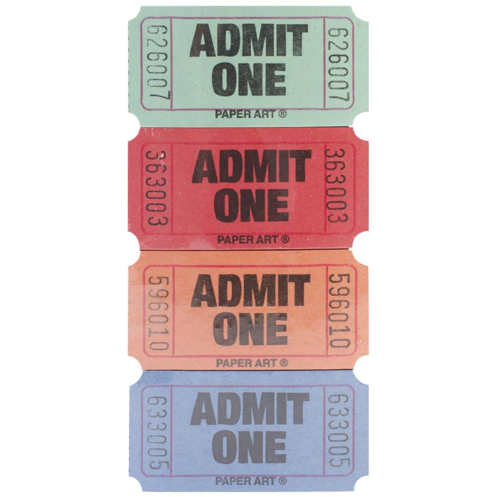 Creative Converting - Admit One -Admit One Tickets