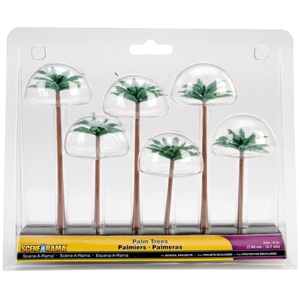 "Woodland Scenics - 3""-5"" -Palm Trees"