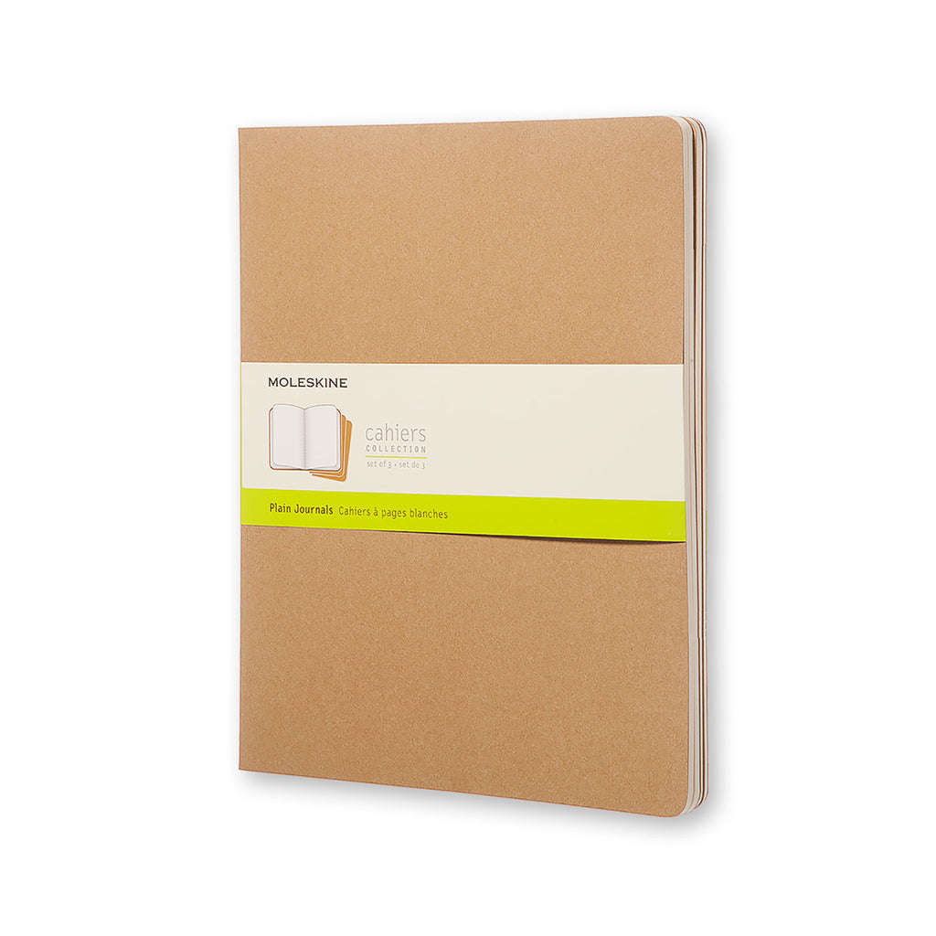 Moleskine Cahier Journal XXL Plain Kraft Brown