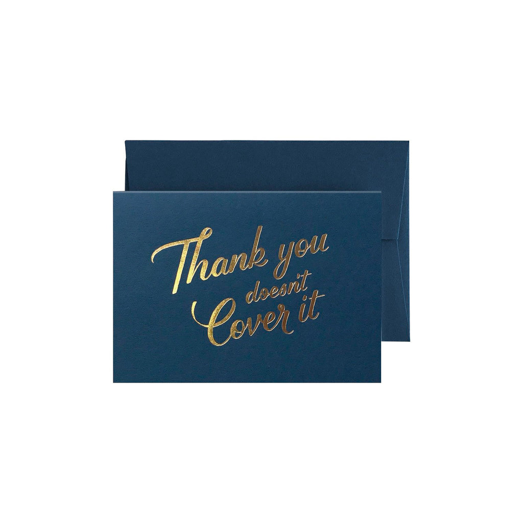 Thank you doesnt cover it - Just To Say Card