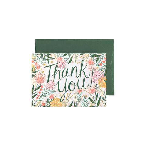 Thank you - In Bloom Card