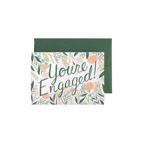 Youre engaged - In Bloom Card