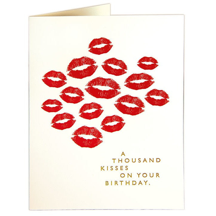 A Thousand Kisses Card