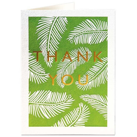 Ferns Tk You Card