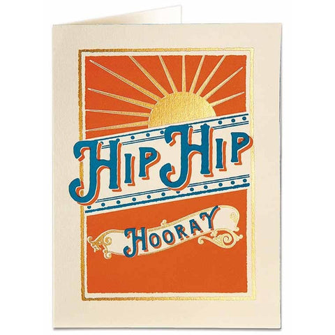 Hip Hip Horay Card