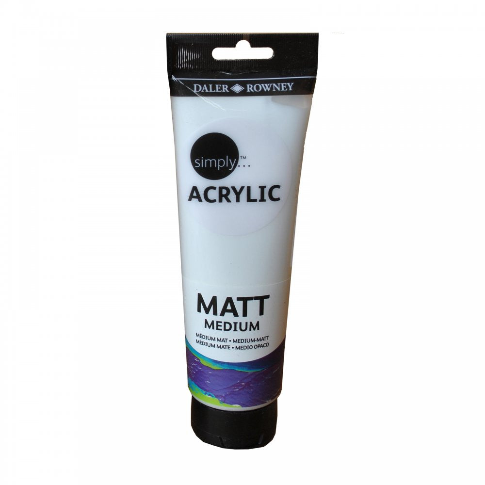 Daler Rowney Simply Acry 250ml Matt Medium