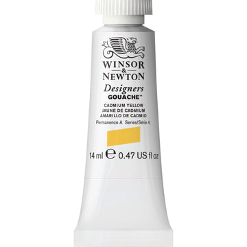 W&N - Designers Gouache 14ml - Cadmium Yellow Ny
