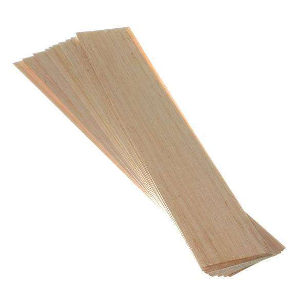 Balsawood 1.6 x 75 x 450 mm Bulk Pack 10