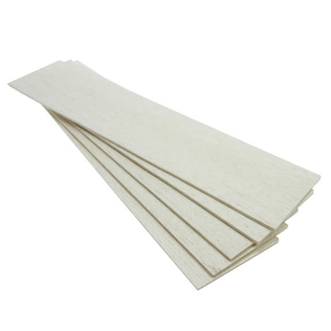 Balsawood 3.2 x 100 x 450mm Bulk Pack 5