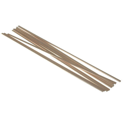 Balsawood 3.2 x 6.4 x 450 mm Bulk Pack 10