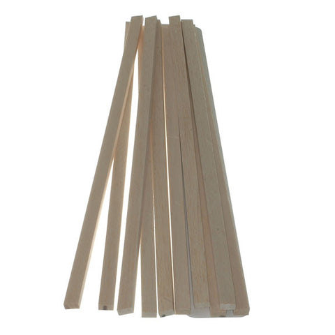 Balsawood 6.4 x 12.6 x 450mm Bulk Pack 10