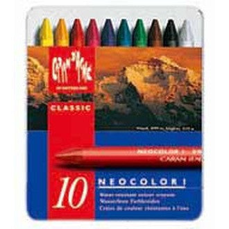 Caran D'Ache Neocolor 1 Tin of 10