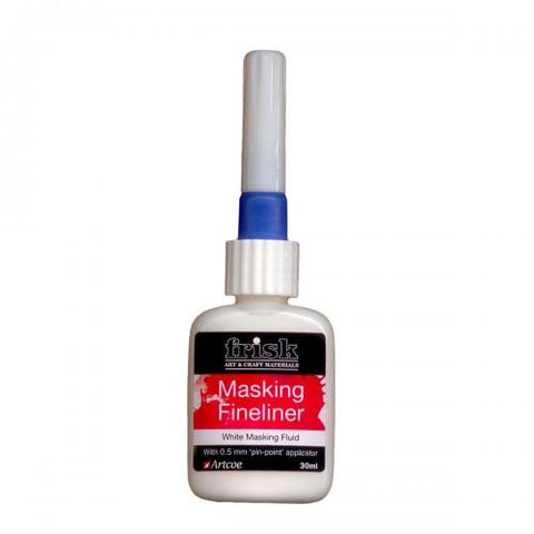 Frisk Masking Fineliner - 30ml white
