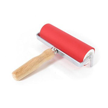 Abig - Ink Roller 150mm  with Wooden Handle
