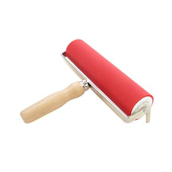 Abig - Ink Roller 200mm  with Wooden Handle