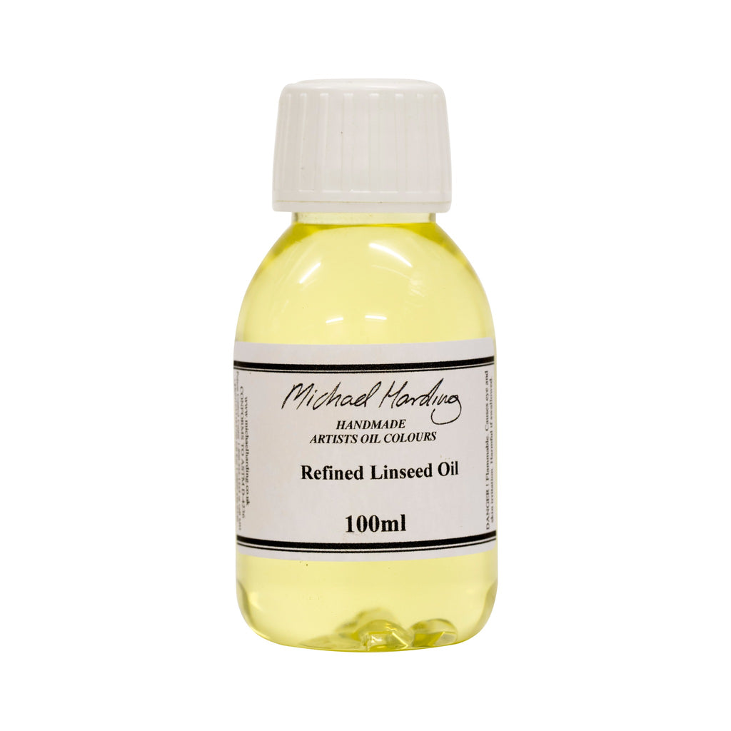 Michael Harding Refined Linseed Oil 100ml