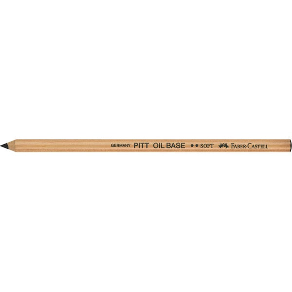 PITT Oil Based Black Pencil, No.2 Soft