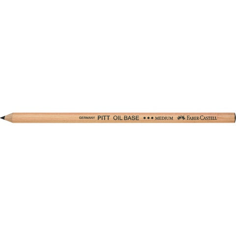 PITT Oil Based Black Pencil, No.3 Medium