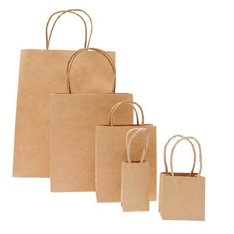 Rico - Paper Bag Brown / 18/21/8 cm