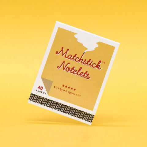 Matchstick Notelets - Mini Sticky Notes