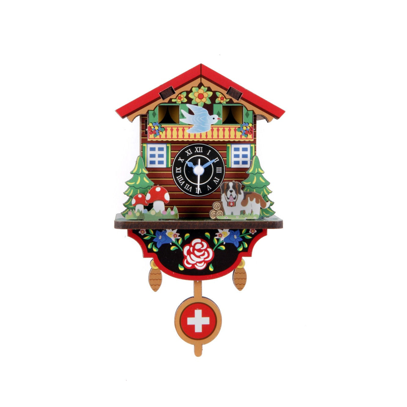 Kikkerland make your own swiss house clock fred aldous kikkerland make your own swiss house clock amipublicfo Image collections